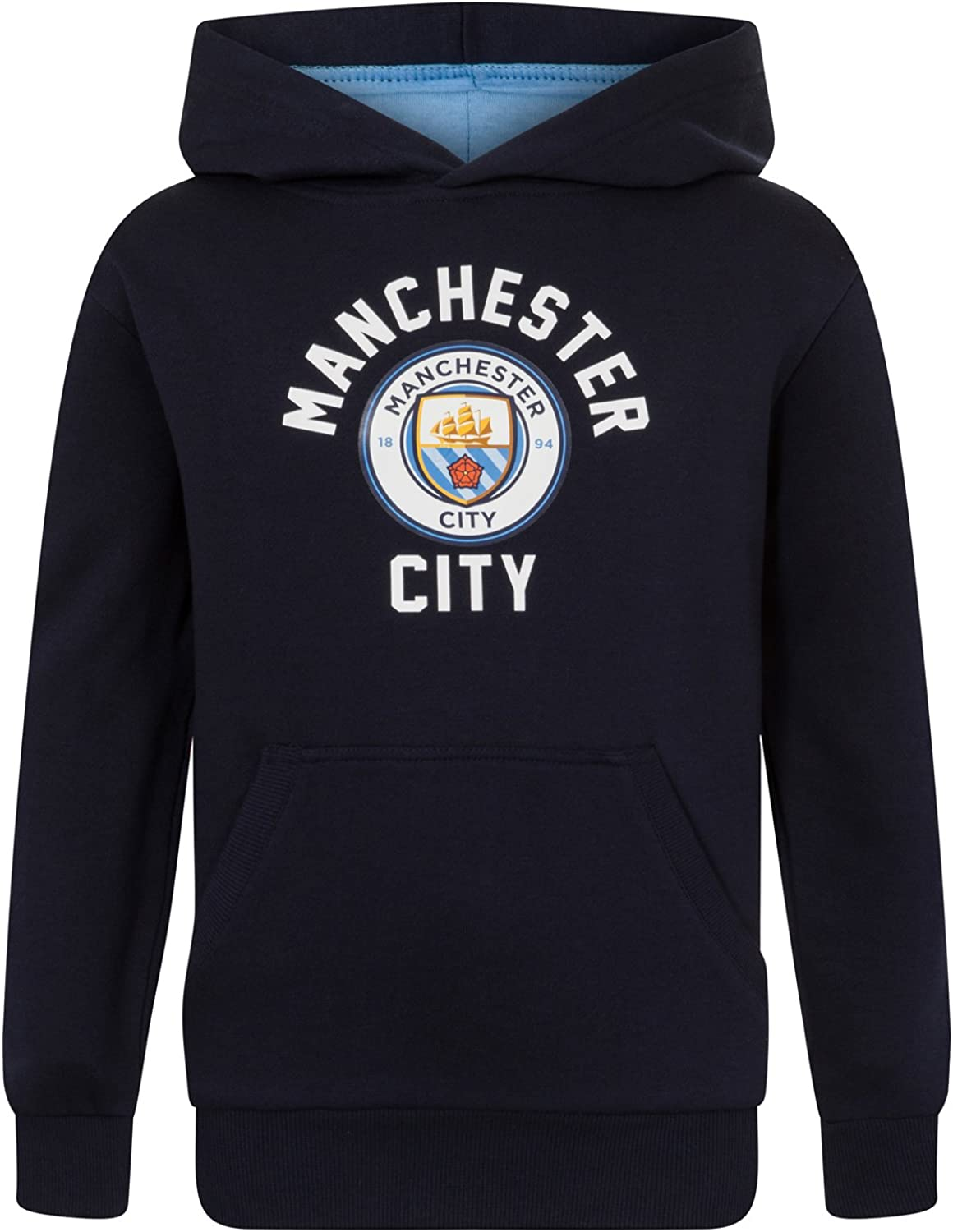 Manchester City FC Sale item Official Soccer Graphic Max 50% OFF Boys Gift Hood Fleece