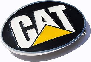 CAT CATERPILLAR Belt Buckle black yellow color Great gift