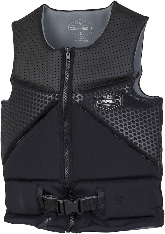 Black//Grey OBrien Mens Aussie NCGA Vest