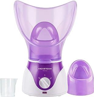 Gezichtssauna • Gezichtsstomer met inhalator MEASTEAM • maakt de huid klaar voor gezichtssbehandelingen • geschikt voor et...
