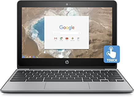 "2018 Newest HP 11.6"" HD IPS Touchscreen Chromebook with 3x Faster WiFi - Intel Dual"