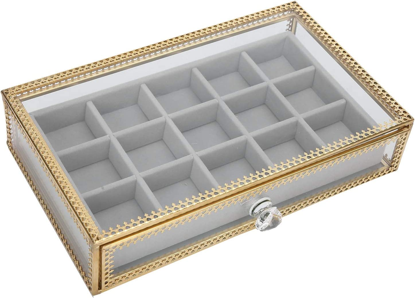 Nail Chicago Mall Accessory Storage Box Org Makeup Cosmetic Practical Milwaukee Mall