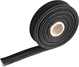 Heat Hose Fiberglass Wrap Shield Sleeve- 1/2