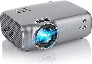 WiMiUS プロジェクター 4200lm 1080PフルHD対応 ホームプロジェクター 二つ内蔵HIFIスピーカー 200インチ大画面 ホームシアター HDMIケーブル付属 HDMI/USB/VGA/AV/パソコン/スマホ/タブレット/ゲーム機など接続可能 3年保証