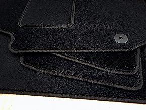 Accesorionline Alfombrillas para Audi A6 Todos los Modelos Avant Berlina A Medida - Talonera Alfombras esterillas C4 C5 C6 C7 C8 (A6 (1997-2002) C5)