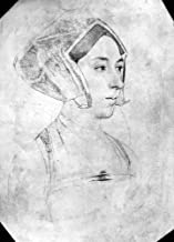 Anne Boleyn (1507-1536) Nsecond Wife Of King Henry Viii Of England Drawing By Hans Holbein The Younger C1535 Poster Print by (18 x 24)