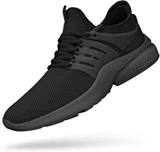 Feetmat Men's Non Slip Mesh Sneakers Lightweight Breathable Athletic Running Walking Tennis Shoes