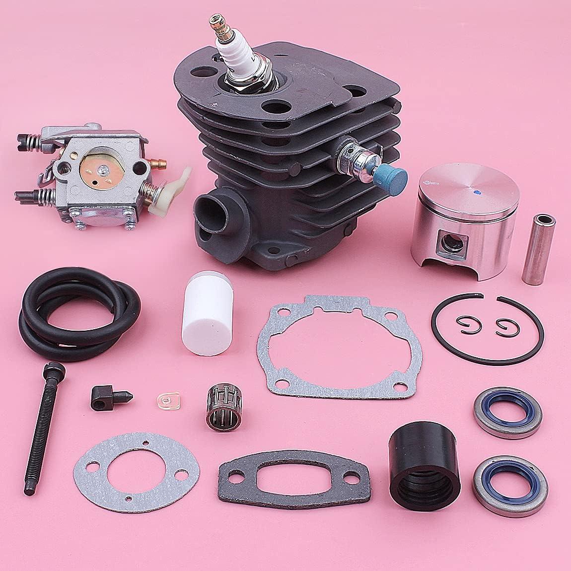 KENZAVO NEW before selling ☆ Cylinder Piston Carburetor For Decompres 55 Husqvarna 51 New item