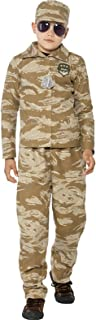 Smiffy's Big Boys' Army Soldier Fancy Dres Costume Ages