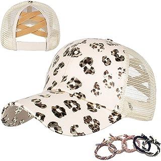 Womens Cow Print Baseball Cap Unisex Adjustable Baseball Hat Casual Cotton Sun Hats for Teen Girls
