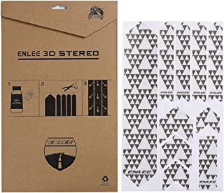 V-GooD High Impact Road and Mountain Bike Frame Guard Protector Sticker Decals - Protects Your Bike from Scratches and Dings,Honeycomb 3D Sollid Structure PVC Material