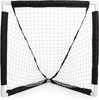 Champion Sports Mini Lacrosse Goal: Kids Gear Backyard Shooting Practice Net