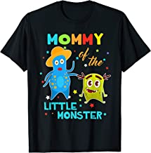 Mommy Of The Little Monster Birthday Shirts