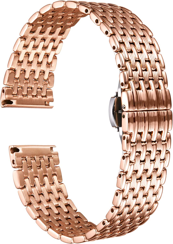 BINLUN Ultra Thin Mesh Stainless Band Austin Mall Steel Light Product St Watch