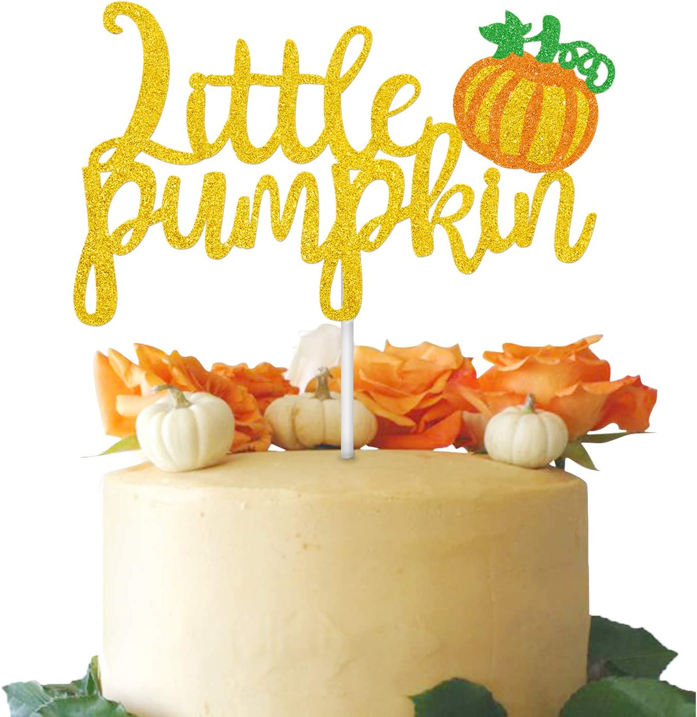 Little Pumpkin Birthday Pumpkin party theme Boho Cake Topper. Pumpkin Cake Topper My Little Pumpkin 1st Birthday party