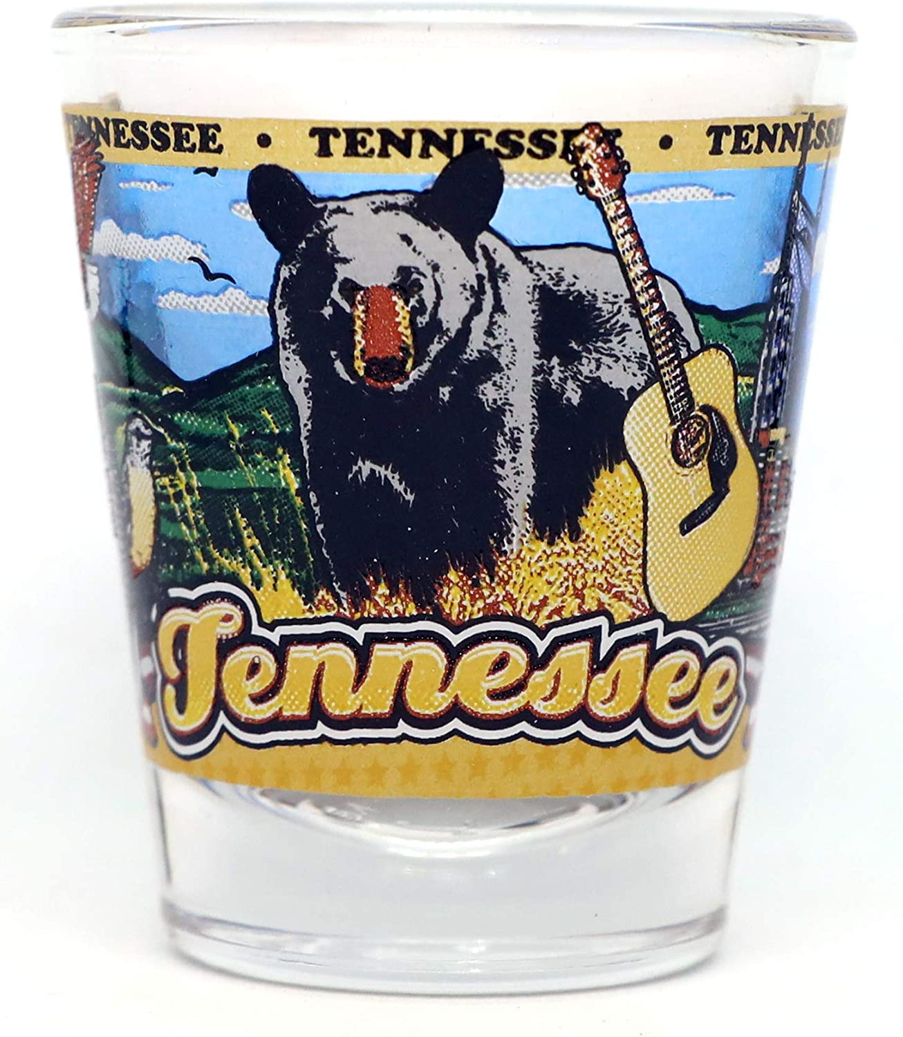 Tennessee State Wraparound Clearance SALE! Limited time! Shot Max 80% OFF Glass