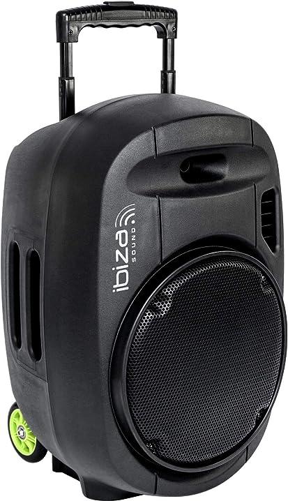 Sistema audio portatile stand-alone 12