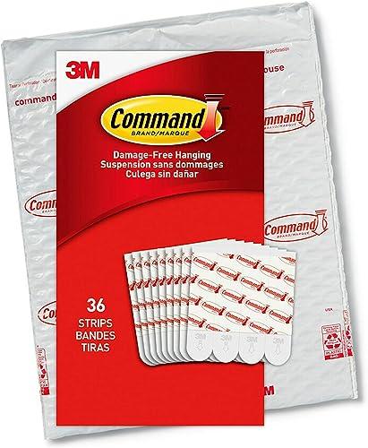 Command GP021-36NA Value Pack Refill Strips, Medium, White