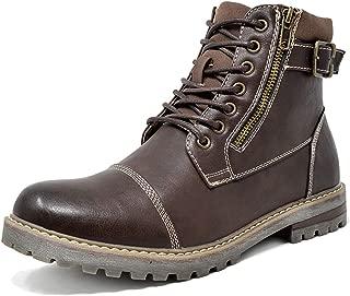 Best mens combat boots with zipper Reviews