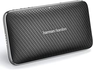 JBL HKESQUIREM2BLKAM Harma Kardon Esquire Mini 2 Ultra-Slim and Portable Premium Bluetooth Speaker - Black