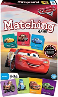 Wonder Forge Disney Pixar Cars Matching Game For Boys & Girls Age 3 To 5 - A Fun & Fast Racecar Memory Game
