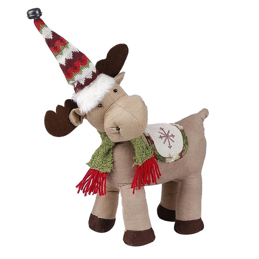 組み込む証言白内障MeetJP クリスマス 装飾 3D クリスマストナカイ人形 可愛い 鹿 クリスマスツリー 飾り 足伸可能 インテリア飾り 屋内 オフィス 店飾り プレゼント 贈り物 おもちゃ クリスマスセット (ブラウン)