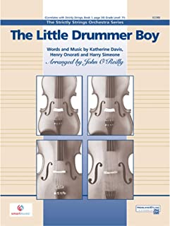 The Little Drummer Boy Conductor Score & Parts String Orchestra