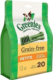 Greenies Grain Free Dental Treats for Petite Dog 340 g, 12 oz