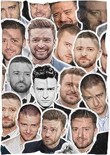 Justin Timberlake Fluffy Micro Fleece Throw Blanket
