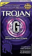 Trojan G. Spot Premium Lubricated Condoms, 10 Count