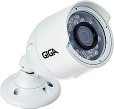 Câmera de segurança Bullet Metálica GIGA 4 Megapixels Open HD Infravermelho 30 metros - GS0042, Branco