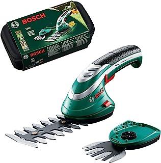 comprar comparacion Bosch -Set de tijeras cortacésped a batería Isio (3.6V, longitud de cuchilla 12cm, distancia entre cuchillas 8mm, en caja)