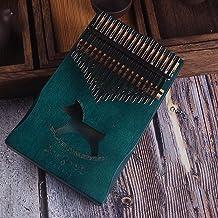 MAODOXIANG Thumb Pianos 17 Keys Kalimba African solid Mahogany Thumb Piano 17 keys Solid Wood Kalimba Musical Instrument F...