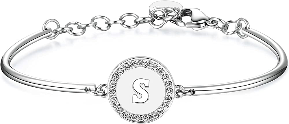 Brosway chakra trendy bracciale per donna in acciaio e cristalli swarovski BHK142