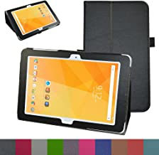 Acer Iconia One 10 B3-A20 Case,Mama Mouth PU Leather Folio 2-Folding Stand Cover with Stylus Holder for 10.1