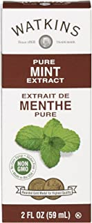 Watkins All Natural Extract, Pure Mint, 2 Fl Oz (Pack of 6) (Packaging may vary)