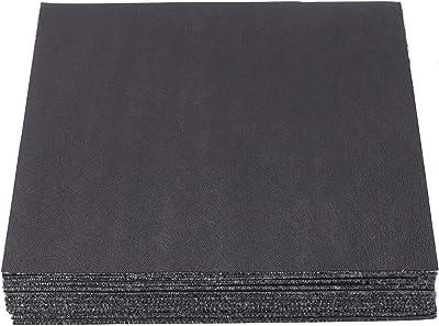 TASORE タイルカーペット 50×50cm 18枚 ズレない 固定用テープ付き タイルマット カットできる 洗える グレー