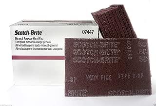 3m 7447/07447 (1/2 Box - 10 pads) Scotch-Brite General Purpose Hand Pads