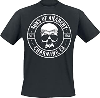Sons of Anarchy Officially Licensed Seal T-Shirt (Black)