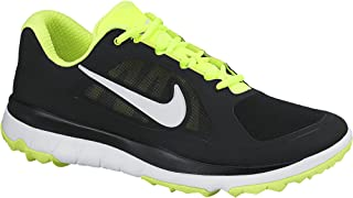 Men's FI Impact Black/Volt/White Golf Shoes Black/Volt/White, Black/Volt