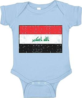 Amdesco Flag of Iraq Iraqi Infant Bodysuit