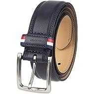 Men's Belt, navy casual, 36