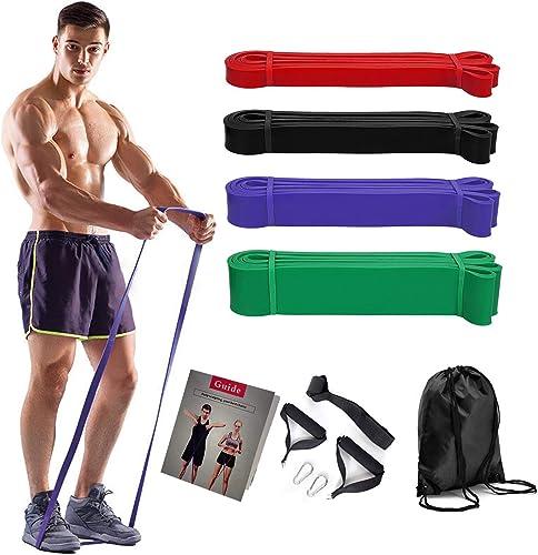 COXTNBIO Bandes Résistance Fitness,Bandes Elastique Musculation, Bandes d'exercice Sport Musculation Bandes Élastique...