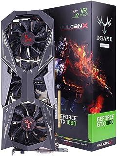 GeForce GTX 1080tiゲームGPU、カラフルなiGameコンピュータビデオグラフィックスカード、バルカンX OC 1620–1733MHz 11g 352bit SLI VR Ready LCDモニタ