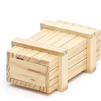 com-four® Caja mágica, Caja mágica de Madera, Caja mágica de ...