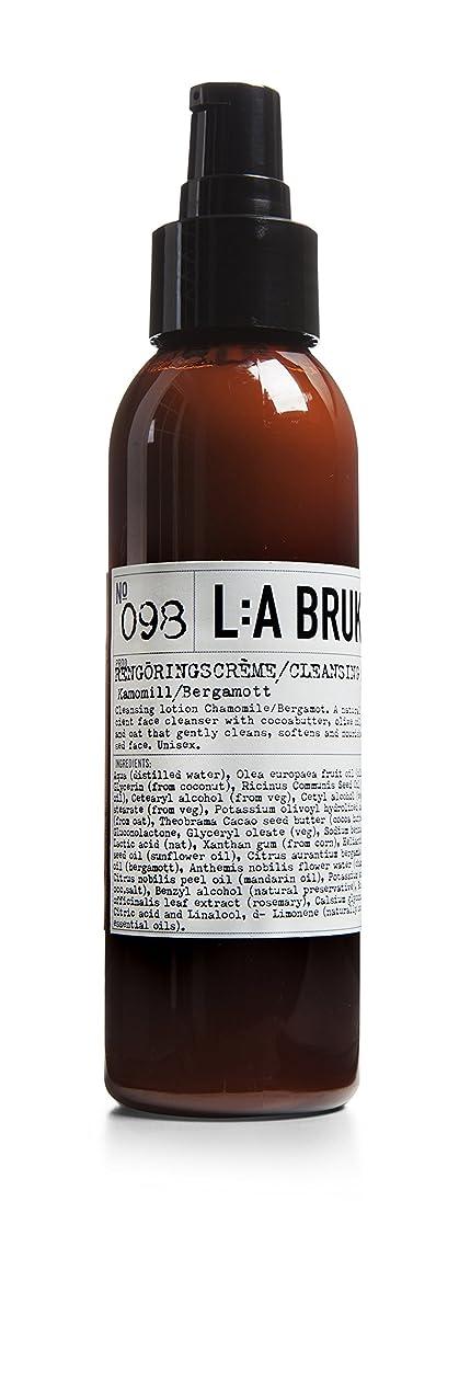 アメリカ裁定札入れL:a Bruket (ラ ブルケット) クレンジングクリーム (カモミール?ベルガモット)120ml