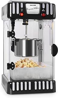 comprar comparacion Klarstein Volcano - máquina de palomitas de maíz, retro, palomitero, 300 W, extraíble, iluminación interior, aprox. 60 l/h...