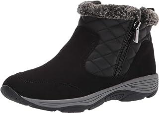 Easy Spirit Women's VANCE11 Ankle Boot, Black, 8.5