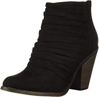 Fergalicious Women's WHIPPY Ankle Boot, Black, 5 M M US