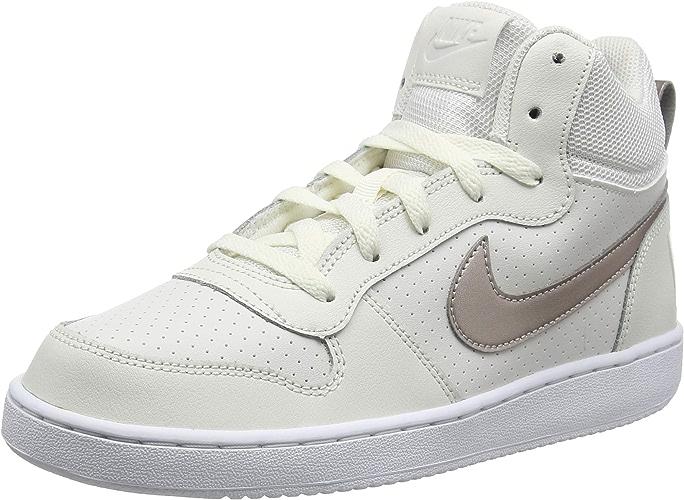 Nike Court Borugh Mid (GS), Chaussures de Gymnastique Garçon